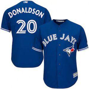 Toronto Blue Jays Josh Donaldson #20 Blue Jersey